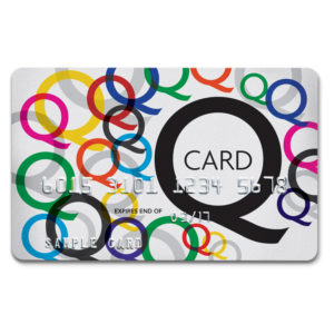 Q Card logo